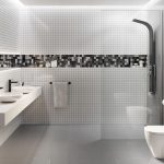 Mozaika cambia white&mix lappato plan