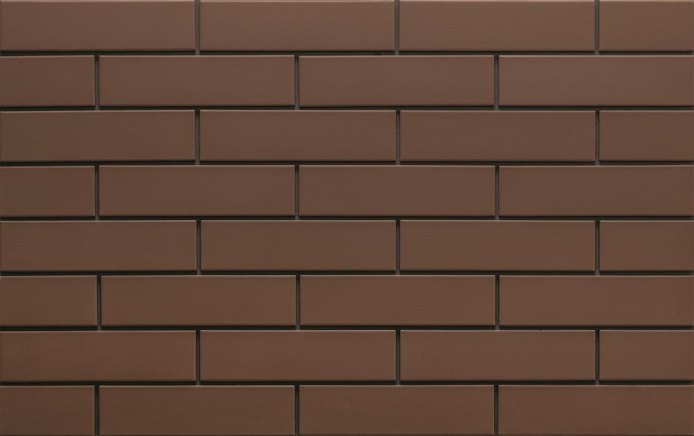 Klinker brown gladkaya 245x65x6,5