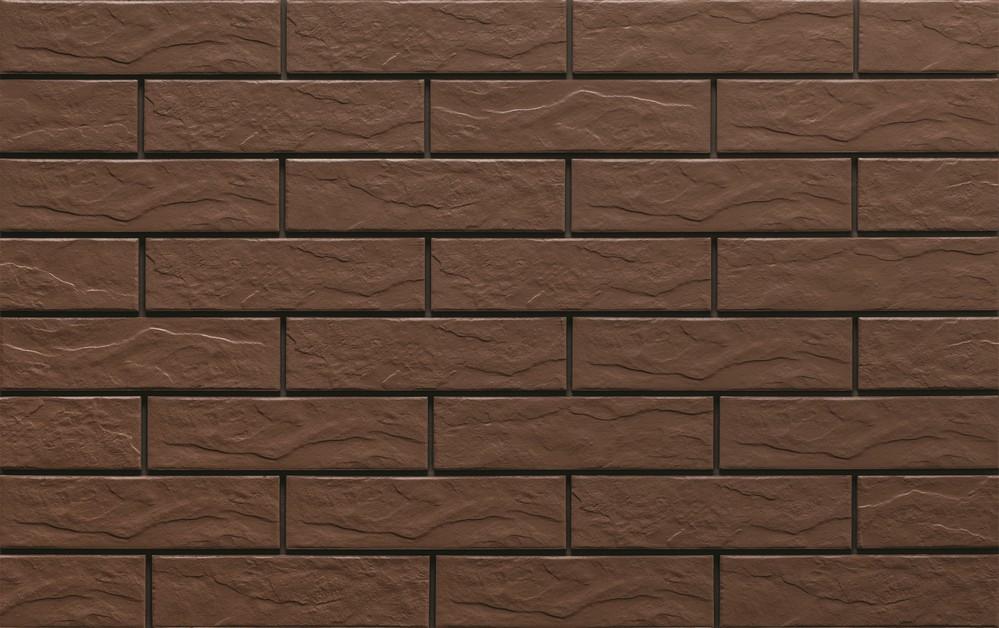 Klinker brown рельеф 245x65x6,5