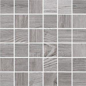 Mozaika derevo cortone grigio 30x30 6